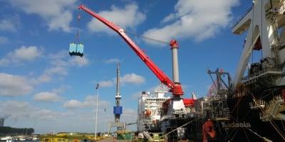 Upgrading eleven cranes of the Pioneering Spirit
