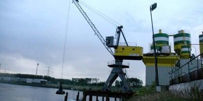 Ombouw NDC-grijperkraan bij MEBIN