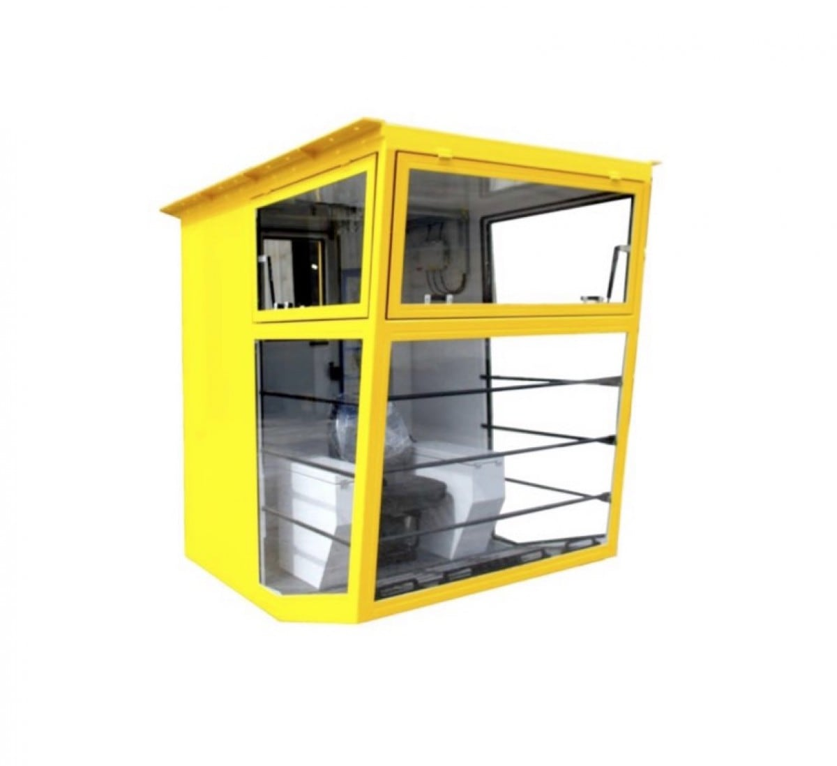 Petrokab cabine, model M: 2,25 × 1,6 × 2,2 m