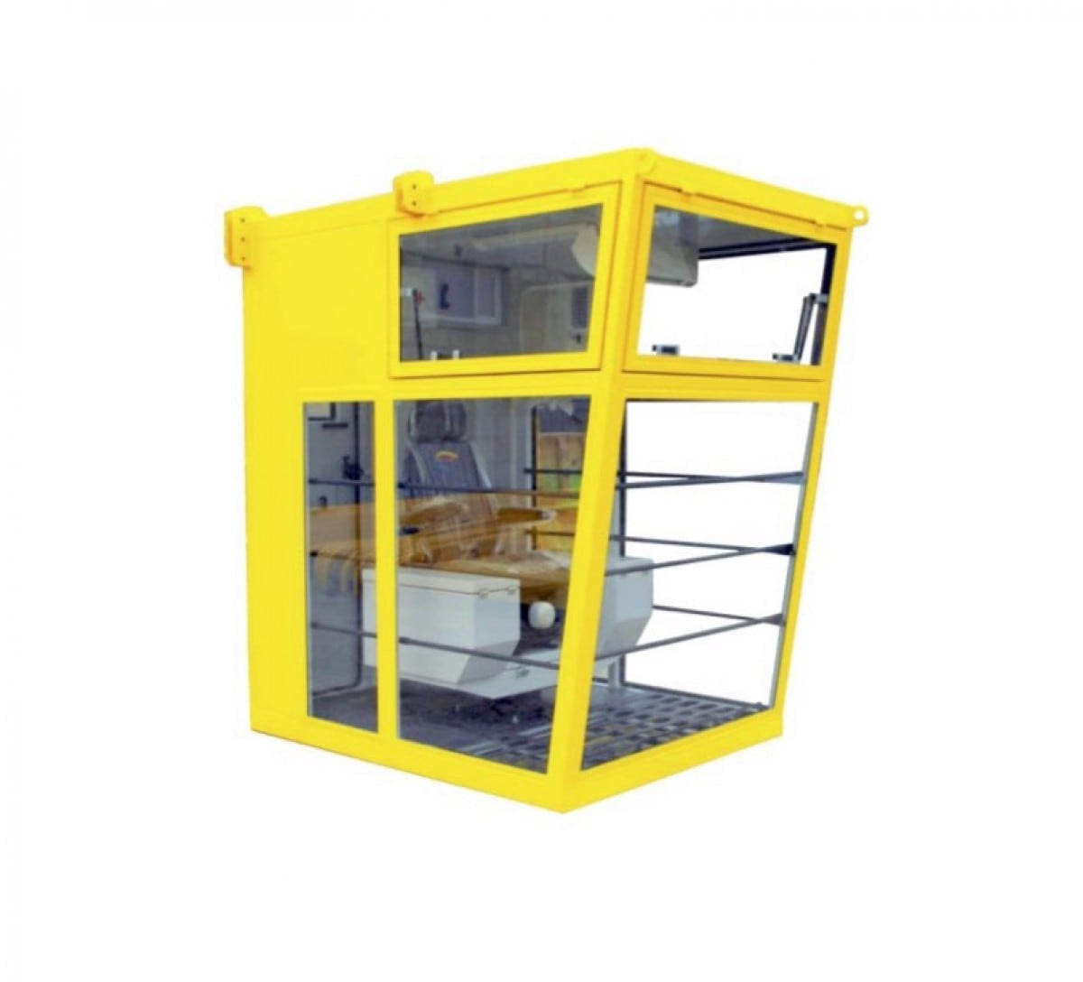 Petrokab cabine, model S: 2,1 × 1,5 × 2,2 m