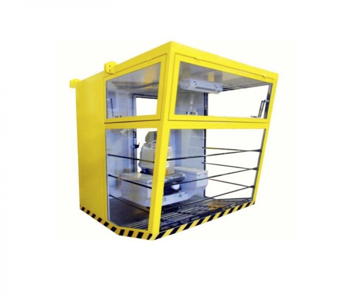 Petrokab cabine, model L: 2,25 × 1,9 × 2,3 m